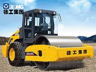 new XCMG XS182 single drum compactor