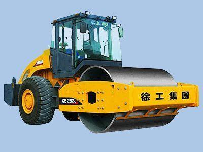 new XCMG XS202J, XS222J, XS262J single drum compactor