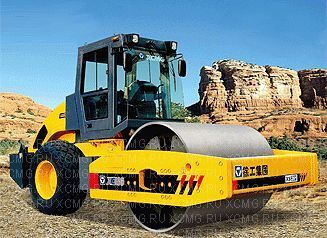 new XCMG XS262 single drum compactor