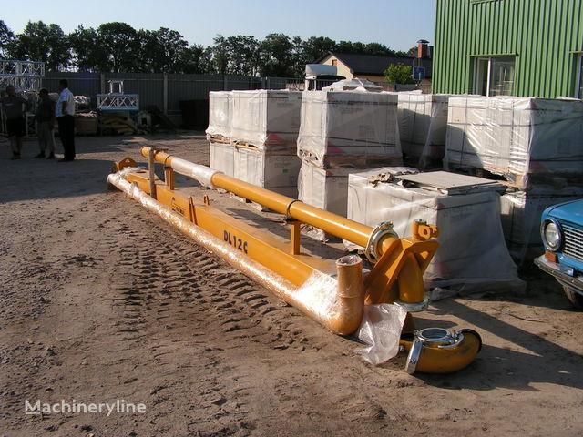 new Strela dlya podachi betona (betonorazdatchik). Italiya slipform paver