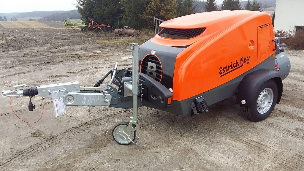 new BRINKMANN EB 450  PROMOCJA  stationary concrete pump