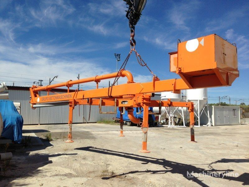 PUTZMEISTER BP12/C-55M stationary concrete pump