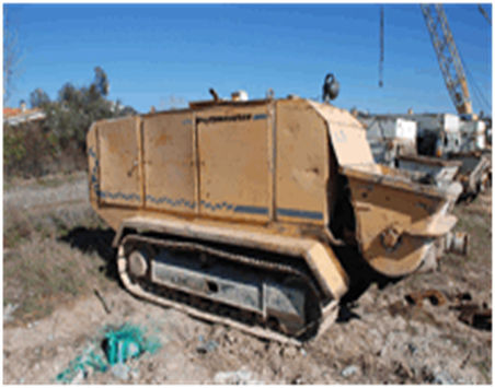 PUTZMEISTER BSC1005 stationary concrete pump
