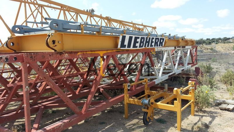 LIEBHERR 71 ecb opcion base tower crane