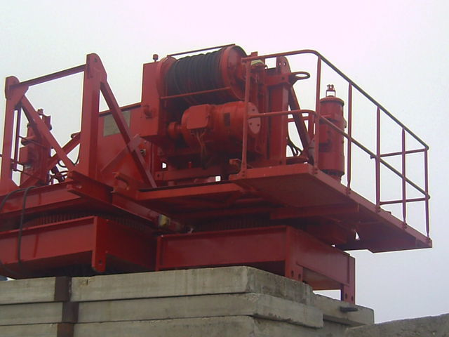 POTAIN pingon GP 4010 con base, opcion cabina tower crane