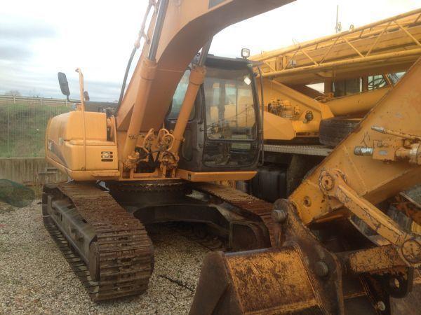 CASE CX 210  tracked excavator