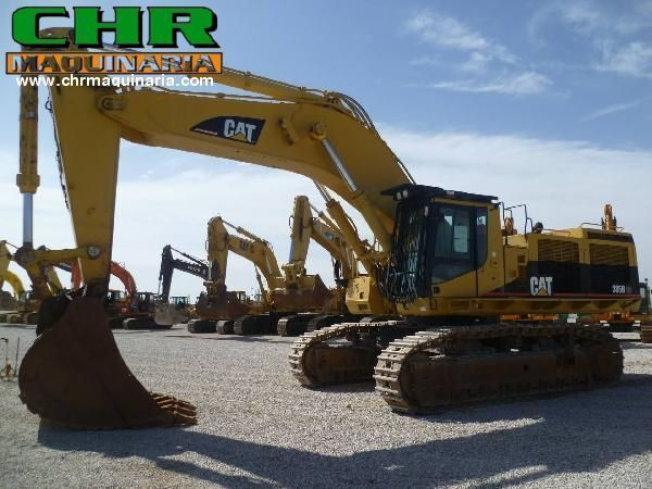 CATERPILLAR 385 B tracked excavator