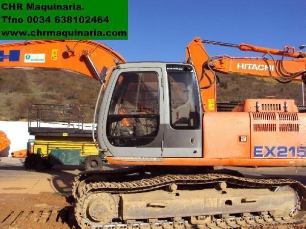 FIAT-HITACHI EX215 tracked excavator