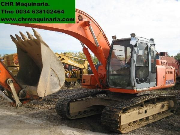 FIAT-HITACHI EX255 tracked excavator