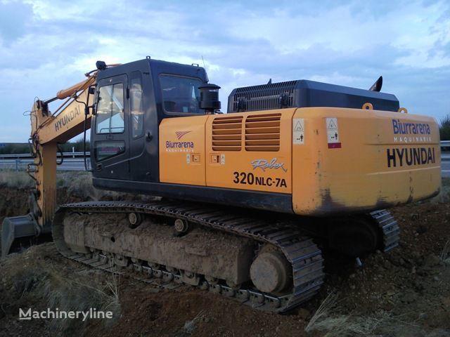 HYUNDAI R320LC7 tracked excavator