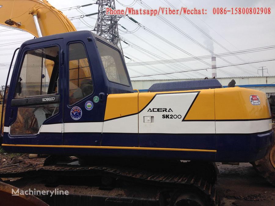 KOBELCO SK200-3 tracked excavator