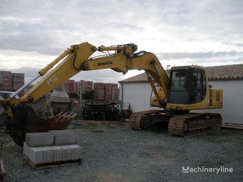 KOMATSU PC 160 LC-6K tracked excavator