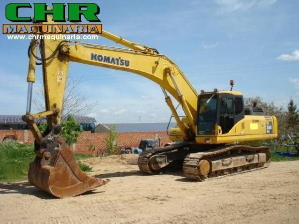 KOMATSU PC340-7 tracked excavator