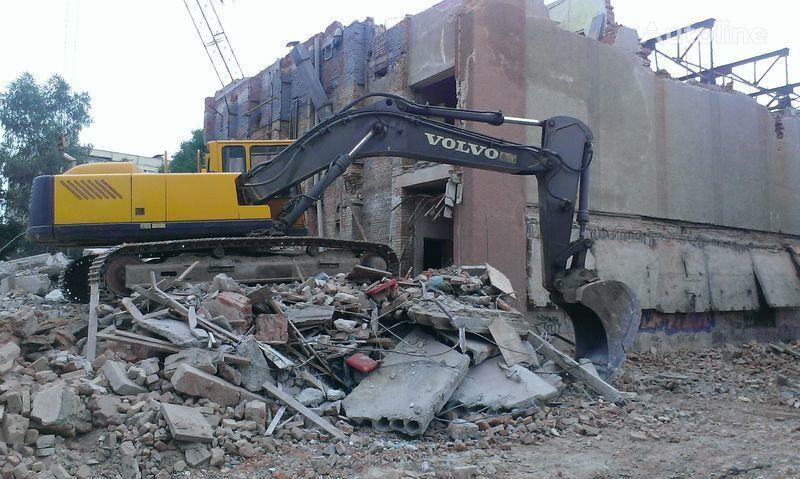 VOLVO 340 tracked excavator