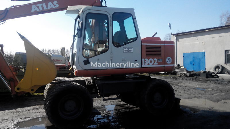 ATLAS 1302 wheel excavator