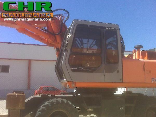 FIAT-HITACHI FH200W.3 wheel excavator