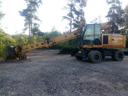 GRADALL XL4300III wheel excavator