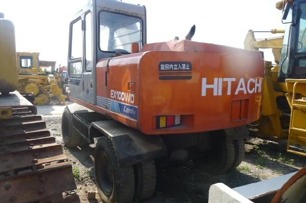 HITACHI EX100WD wheel excavator