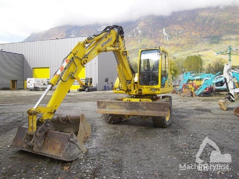 KOMATSU PW 110 R wheel excavator