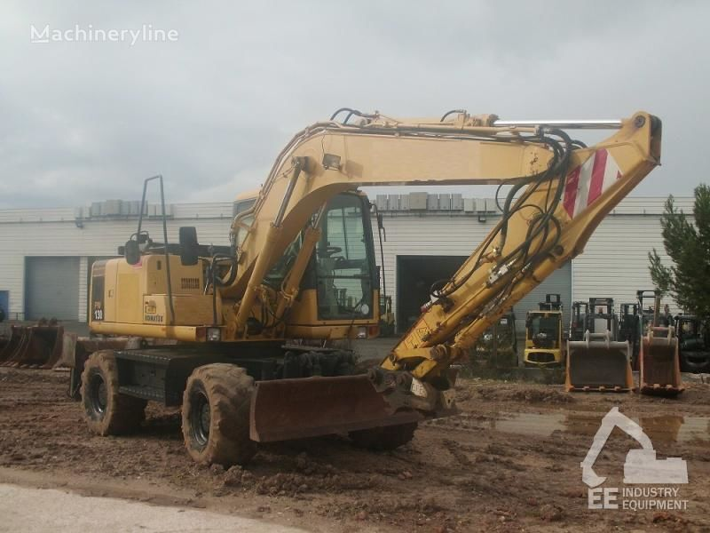 KOMATSU PW 130-7K wheel excavator