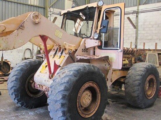 HANOMAG 55C  wheel loader for parts