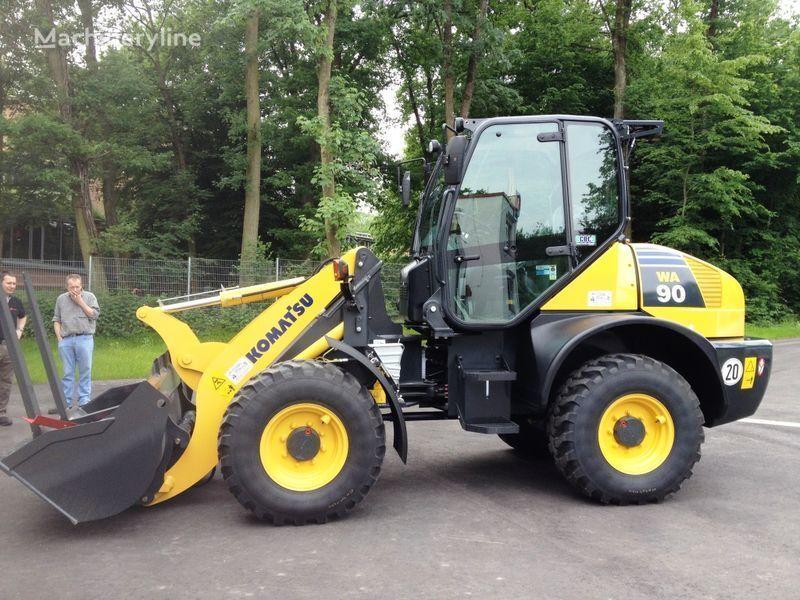 new KOMATSU WA90-6 wheel loader