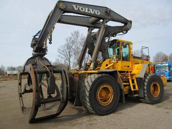 VOLVO L180D HL wheel loader for parts