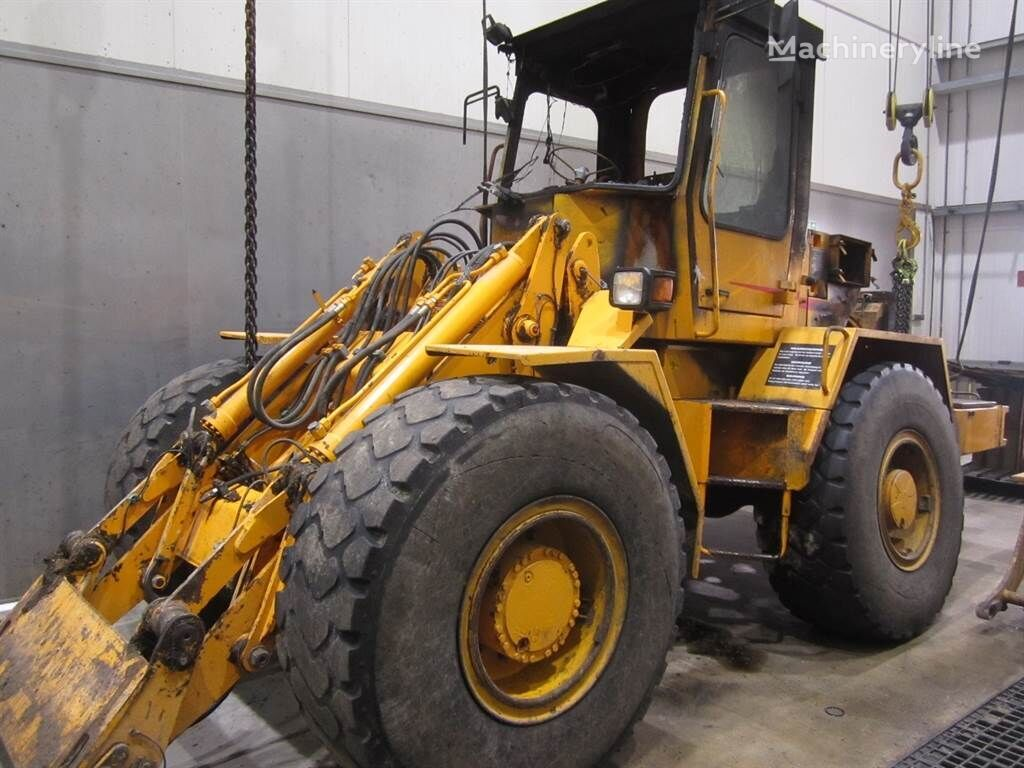 WERKLUST WG18C Brandschade wheel loader