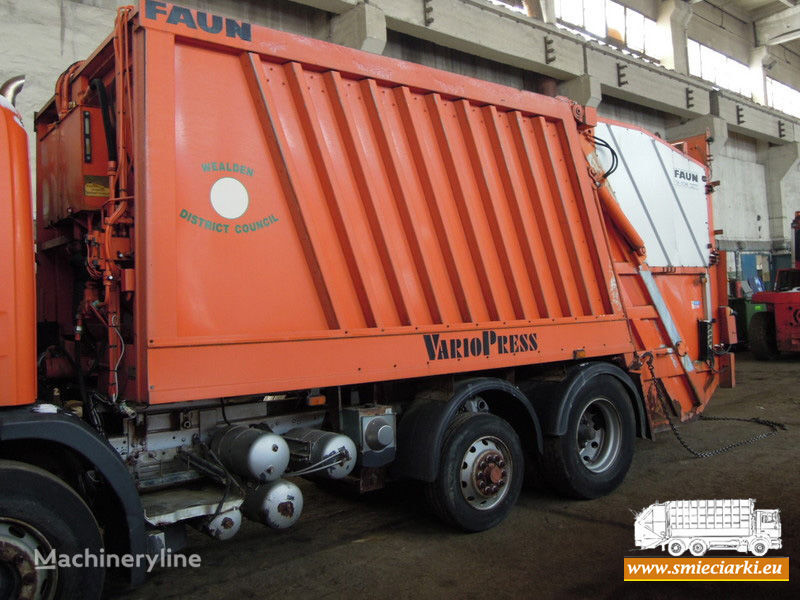 FAUN garbage truck body