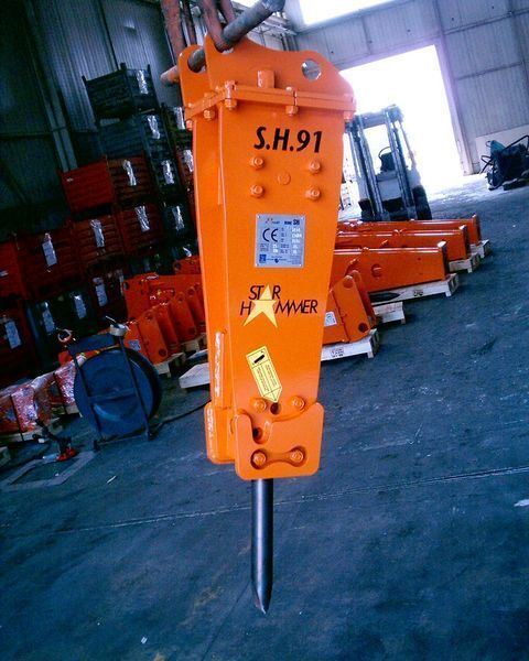 new STAR Hammer SH 91 hydraulic breaker