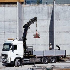 new HIAB loader crane
