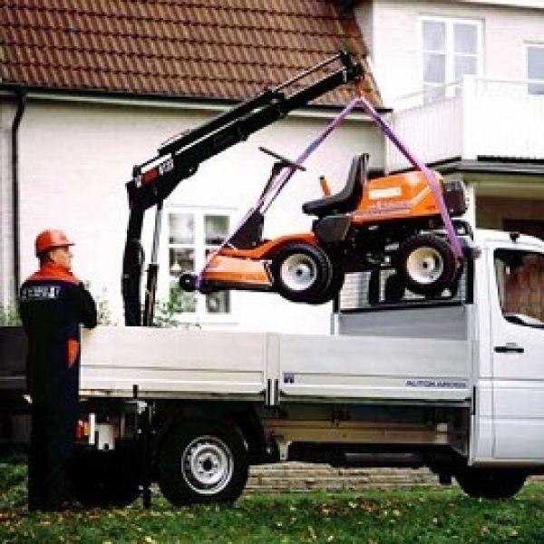 new HIAB 013 T loader crane