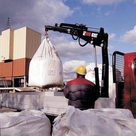 new HIAB 026 T loader crane