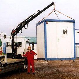 new HIAB 033 T loader crane