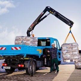 new HIAB XS 022 loader crane