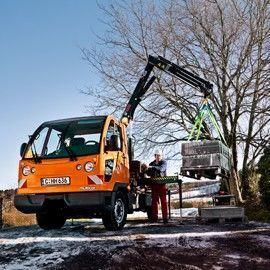new HIAB XS 033 loader crane