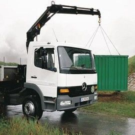 new HIAB XS 099 loader crane