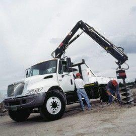 new HIAB XS 122 loader crane