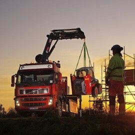 new HIAB XS 211 loader crane
