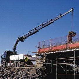 new HIAB XS 244 loader crane