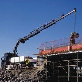 new HIAB XS 288 loader crane