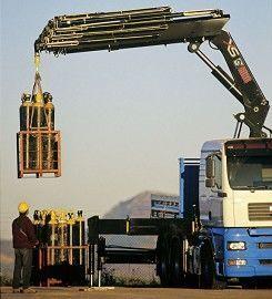 new HIAB XS 477 loader crane