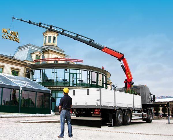 new PALFINGER loader crane