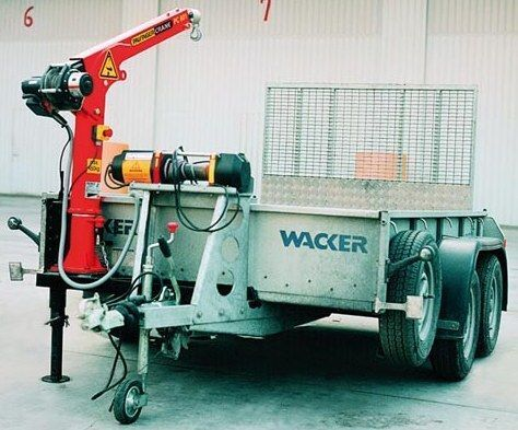 new PALFINGER PC 900 loader crane