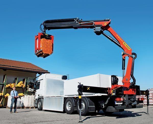 new PALFINGER PK 18002-EH High Perfomance loader crane