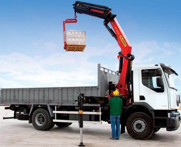 new PALFINGER PK 19502 High Perfomance loader crane