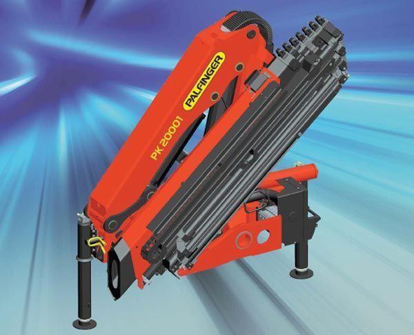 new PALFINGER PK 20001 High Perfomance loader crane