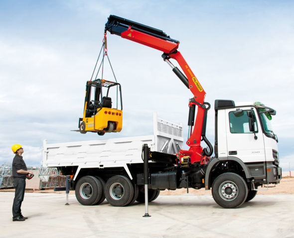 new PALFINGER PK 30002 High Perfomance loader crane