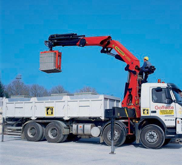 new PALFINGER PK 40002 High Performance loader crane