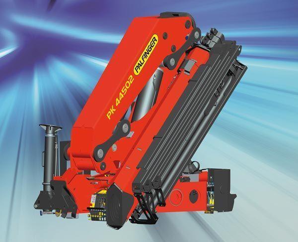 new PALFINGER PK 44502 serii Perfomance loader crane